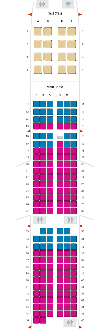 Airbus a321 Seat Map