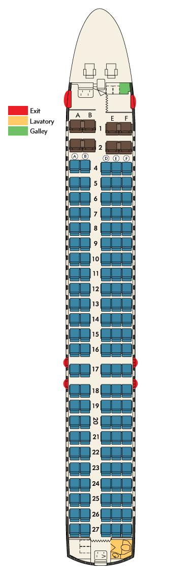 717 Seat Map