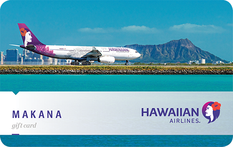 Hawaiian Airlines E-Gift Card