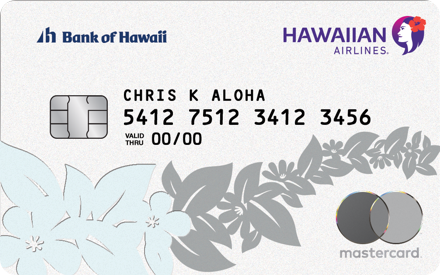Welcome Cardmember   Hawaiian Airlines