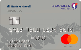 The Hawaiian Airlines Business Mastercard