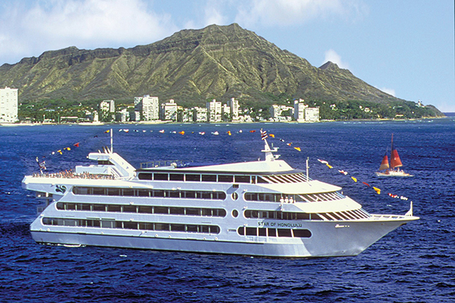 star of honolulu on the ocean
