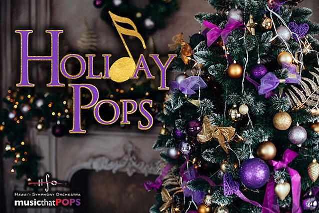holiday pops event flyer