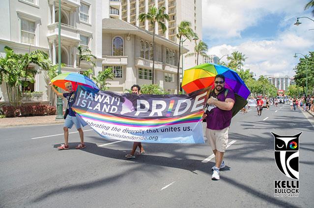 ホノルル プライド パレード フェスティバル ハワイ オアフ島ワイキキ