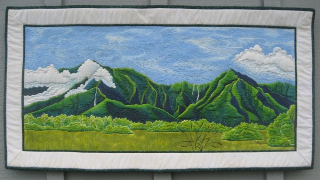 Kauai Quilt Show Hawaiian Airlines