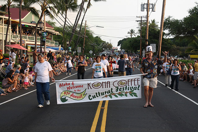 coffee festival parade
