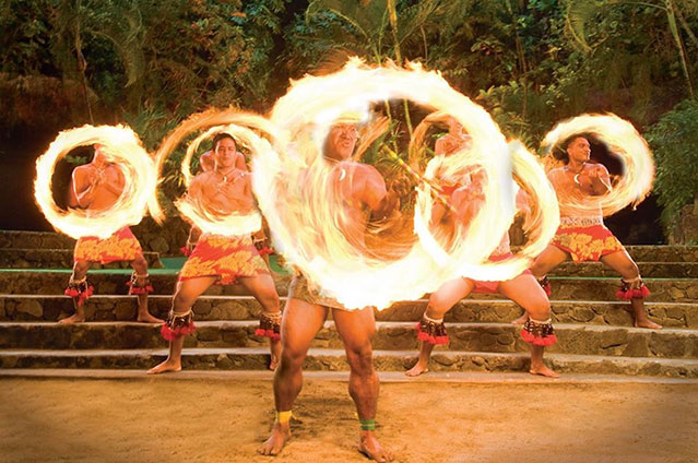 fireknife dancers