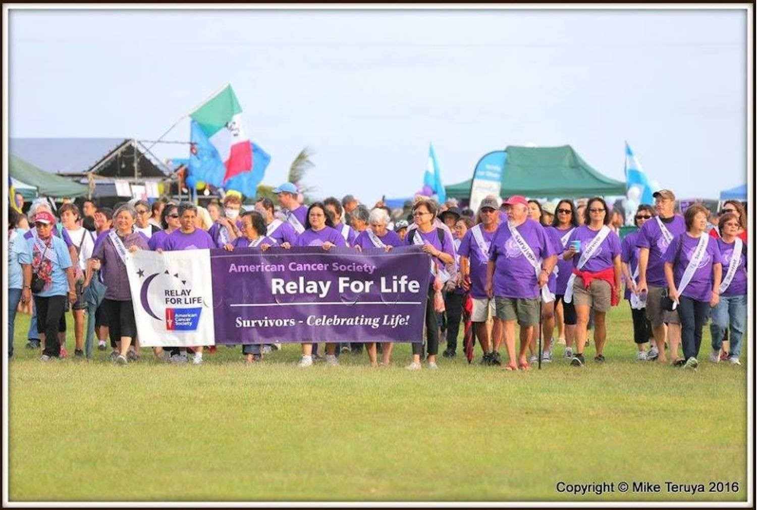 Relay for life group photo