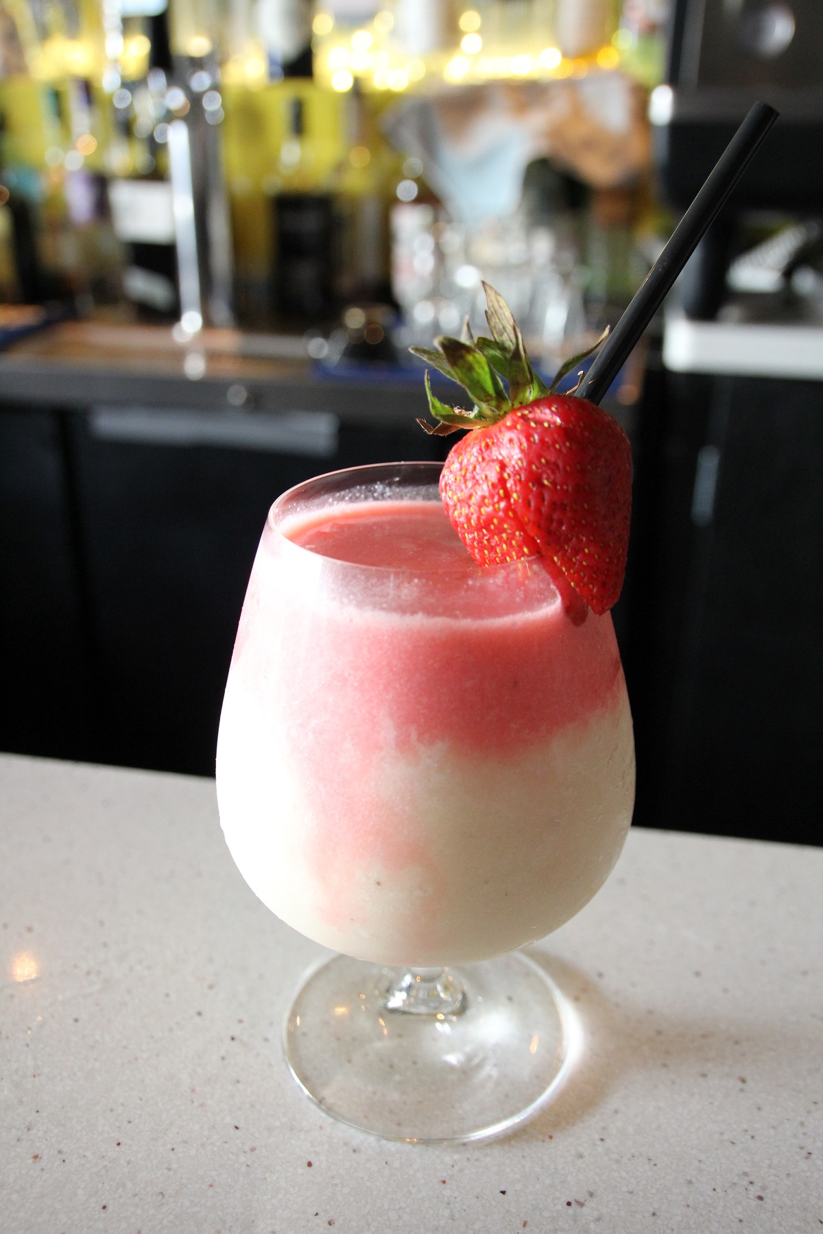 Strawberry cocktail