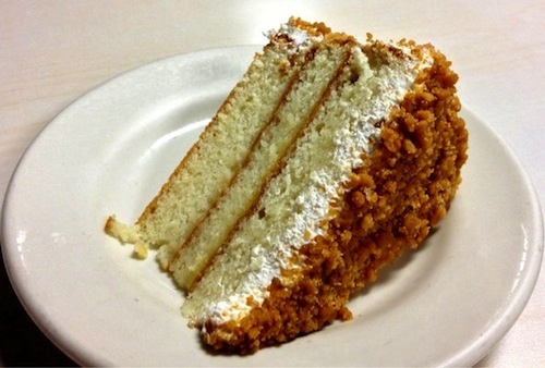 Lemon crunch cake