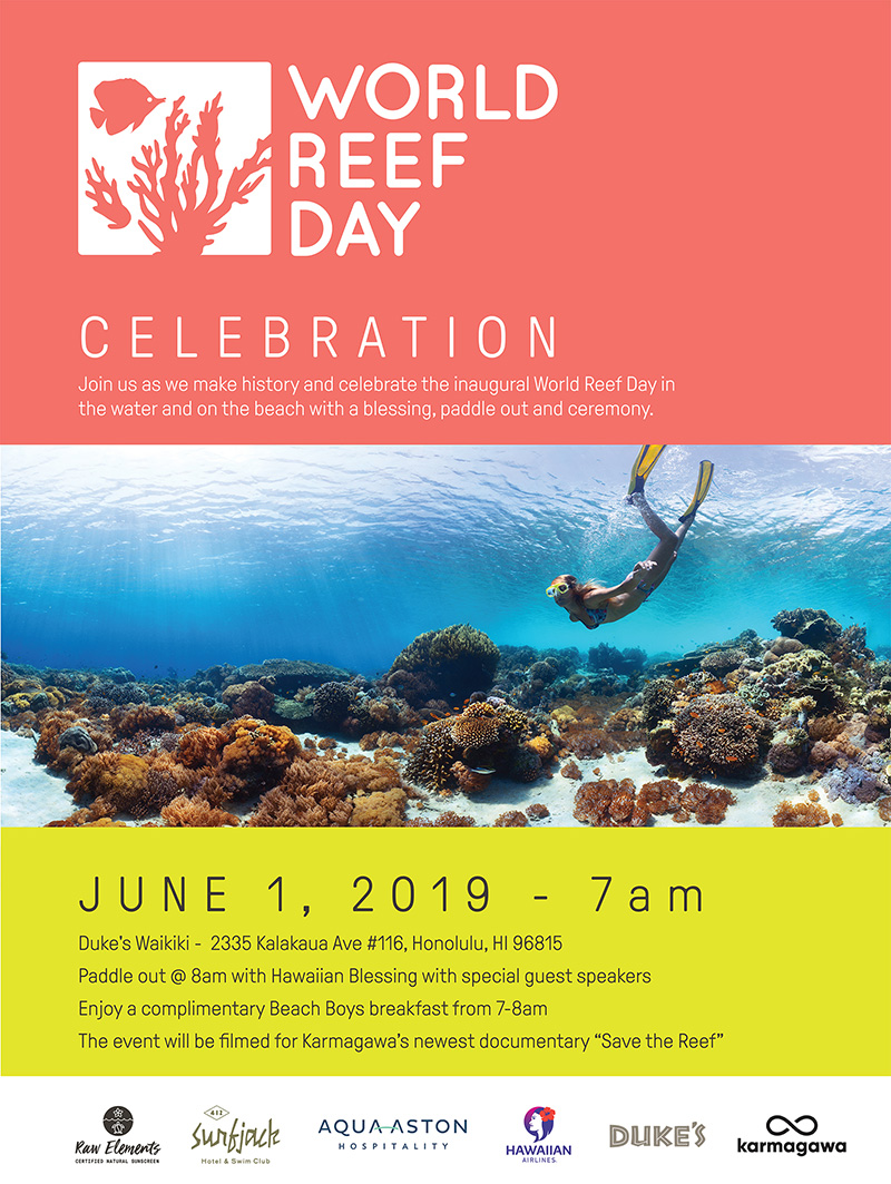 World Reef Day Poster