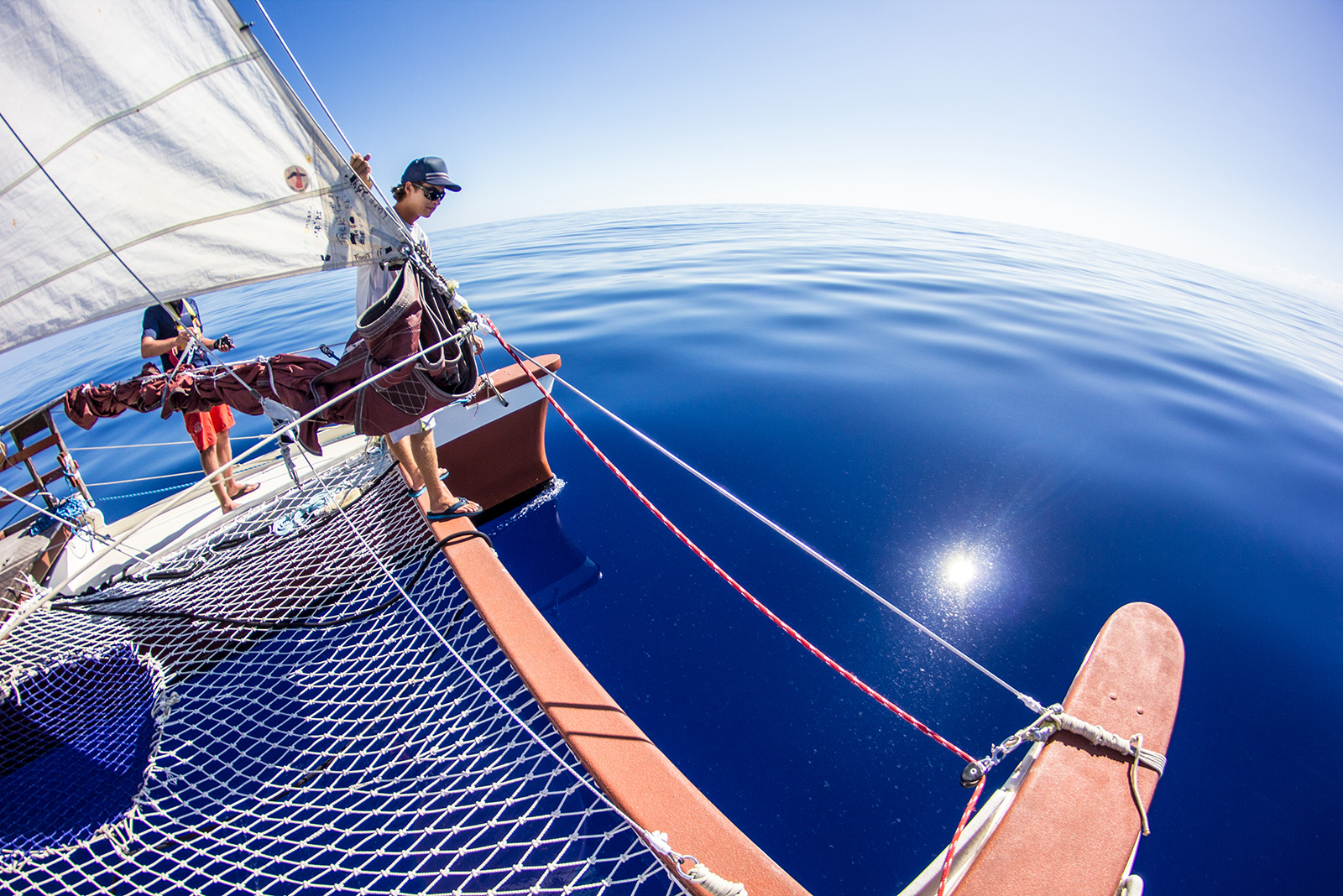 Hokulea Ocean Conditions