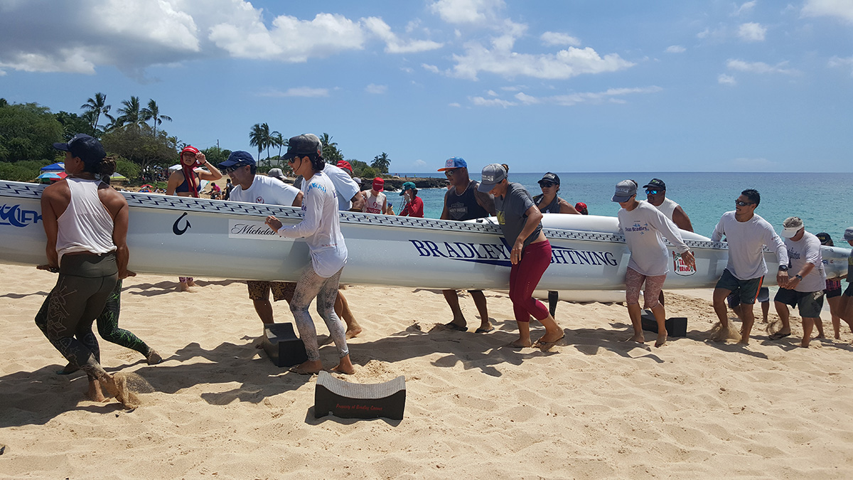 Photo 1 HA Molokai Paddling