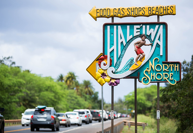 The Haleiwa sign
