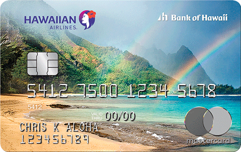 The Hawaiian Airlines World Elite Mastercard