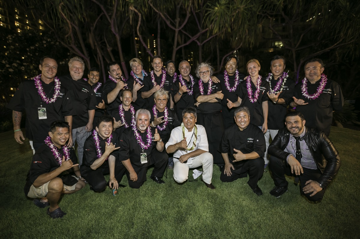 Chefs at Hawaii Food & Wine Festival