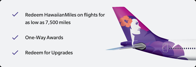 Redeem Hawaiian Airlines